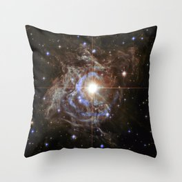 RS Puppies - Super Star Throw Pillow