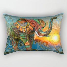 Elephant's Dream Rectangular Pillow