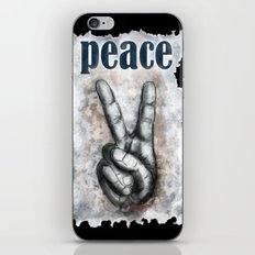 Peace - Male iPhone & iPod Skin
