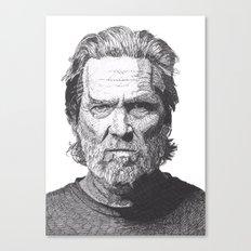Jeff 2 Canvas Print