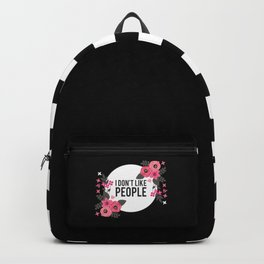 I Hate People Backpack
