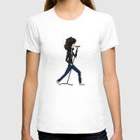 ramones T-shirts featuring Joey Ramone by Pixel Faces
