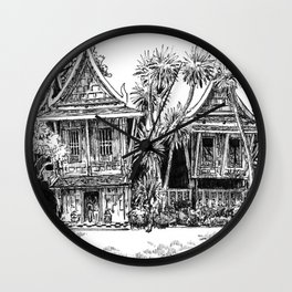 Jim Thompson House Wall Clock