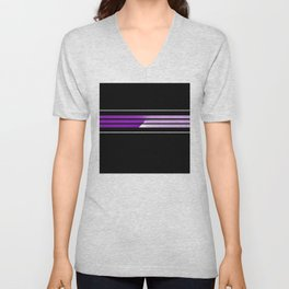 Team Colors 5...Purple Unisex V-Neck