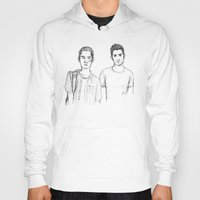 teen wolf Hoodies featuring Teen and Wolf by Zalazny
