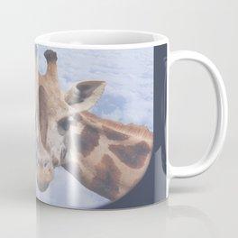 Yeah yeah, for sure there is a funny giraffe...  #decor #society6 #buyart Coffee Mug