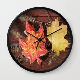 """""""Delicious Autumn II"""" jjhelene design Wall Clock"""