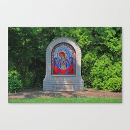 Lourdes University- Commemoration of the Unborn in the Spring (horizontal) Canvas Print