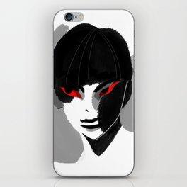 Red Eyed Boy iPhone Skin