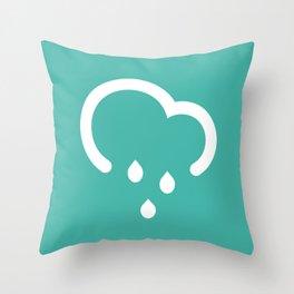 Light Shower - Better Weather Throw Pillow