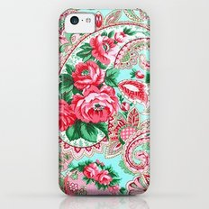 Floral Paisley Pattern 01 iPhone 5c Slim Case