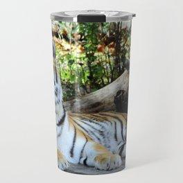 Lounging Tiger 1 (Horizontal) Travel Mug