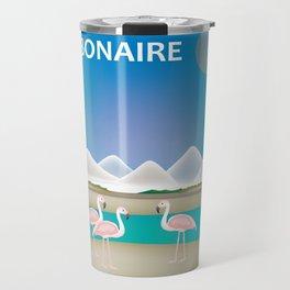 Bonaire - Skyline Illustration by Loose Petals Travel Mug