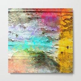 Peeling Paint #2 Metal Print