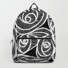 Midnight Roses Backpack
