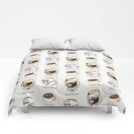Slow Life Coffee Comforters