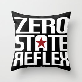 Zero State Reflex Logo Throw Pillow