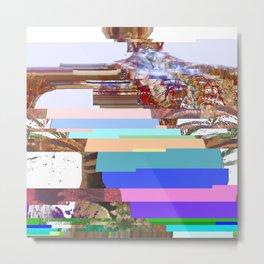 spinal glitch pt. 1 Metal Print