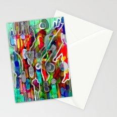 Finger's city Stationery Cards