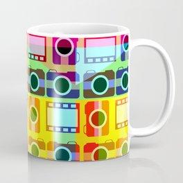 Colorful camera pattern Coffee Mug