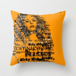Nicky Nichols (Natasha Lyonne) - OITNB Throw Pillow