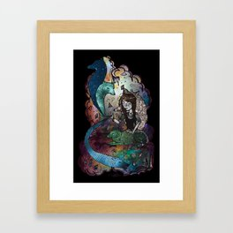 Between the stars and I Framed Art Print