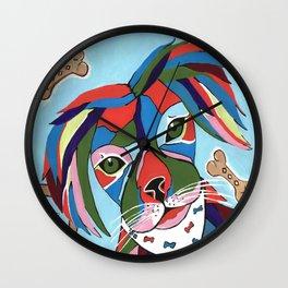 Doggie Dreams Wall Clock