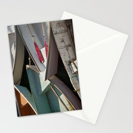 Schoodic Peninsula Boats Stationery Cards