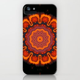 mandala manchas iPhone Case