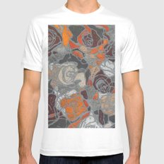 Relief MEDIUM White Mens Fitted Tee