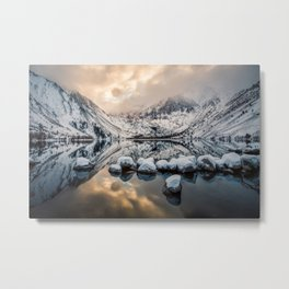 Picture California USA Convict Morrison Nature mountain Lake Scenery Mountains landscape photography Metal Print