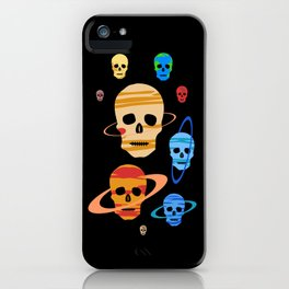 Skull Planets iPhone Case