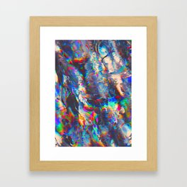 TOUCHING FROM A DISTANCE Framed Art Print