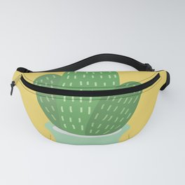 Cute Cactus Illustration Fanny Pack