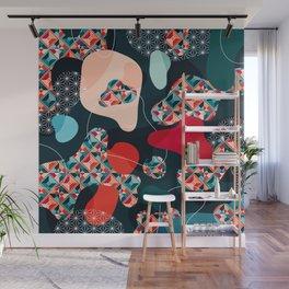Japanese Patterns 14 Wall Mural