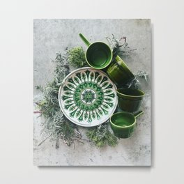 Green 2 Metal Print