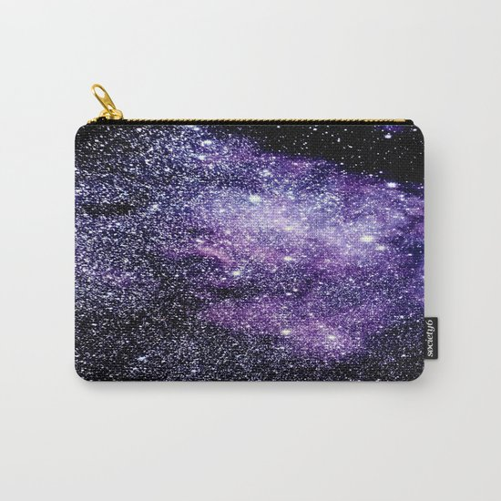 Galaxy Stars Violet Blue Carry-All Pouch