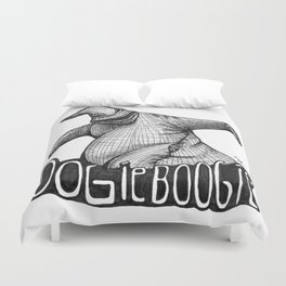 Oogie Boogie Ink Drawing Duvet Cover
