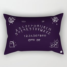 Gabbling With Ghosts Rectangular Pillow