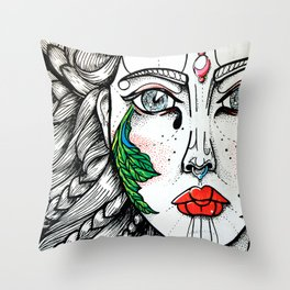 lqr Throw Pillow