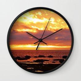 Sunset Extravaganza Wall Clock