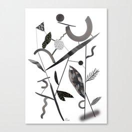 Abstract Botanica - 2 Canvas Print