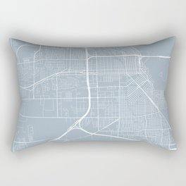 Beaumont Map, USA - Slate Rectangular Pillow