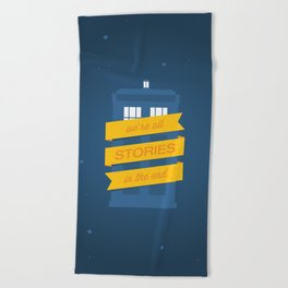 Stories Beach Towel