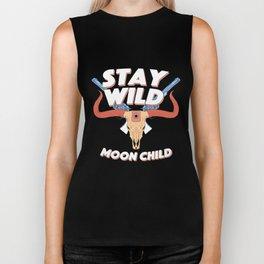 Stay Wild Biker Tank