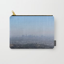 LA Skyline, View from Griffith Park Carry-All Pouch