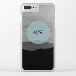 Fine mountains lines - #N/A Clear iPhone Case