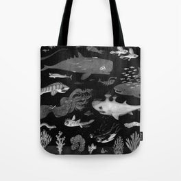 Dangers of the Deep Unknown Tote Bag
