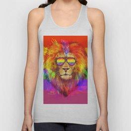 Rainbow Lion Pride Unisex Tank Top