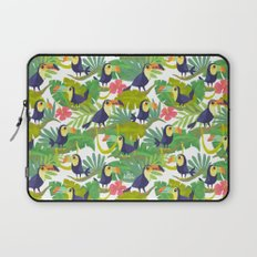 Toucan Paradise Pattern Laptop Sleeve
